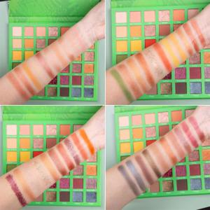 OEM Cosmetic Makeup Long Lasting Waterproof Eyeshadow Palette