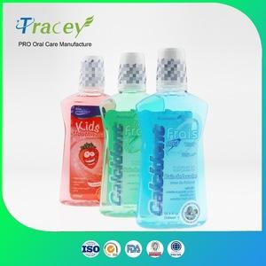 OEM Private Label brand anti-bacteria fluoride formula MouthWash mouth clean aqua