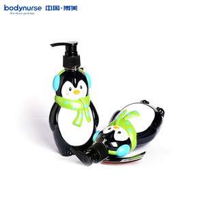 OEM private label Customized bottle shape shower gel for kids