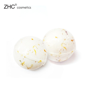 RH1190 Custom shape and size flower handmade natural fizzy bath bombs
