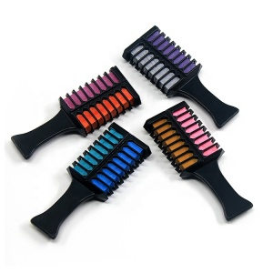 Two way customized color hair color cream hair chalk comb hair dye