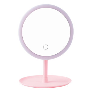 Updated 2019 Version 10X Magnifying Makeup Mirror With Lights, LED Lighted Portable Hand Cosmetic Magnification Light up Mirrors