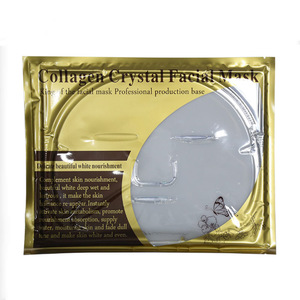 Wholesale Skin Care Private Label Anti Wrinkle Gel Gold Collagen Crystal Breast Mask