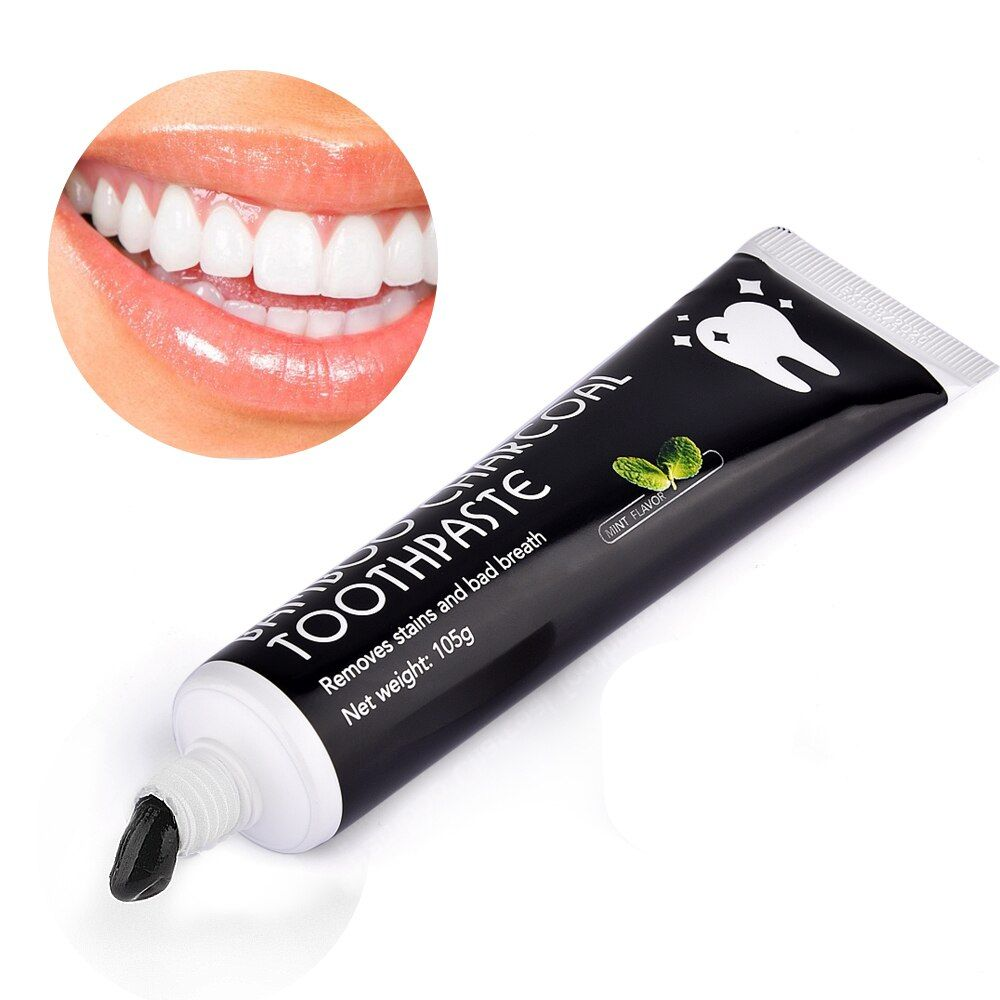 Natural Teeth Whitening Toothpaste Activated Bamboo Charcoal Toothpaste