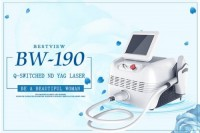 CE TUV ISO Approved Q-Swithched Nd Yag Laser Machine