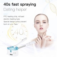 Cold and hot sprayer beauty vaporizador salon skin care portable hot steam machine / professional face steamer