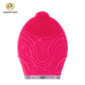 2018 USA hot sell Portable cleansing silicon micro scrubber for face