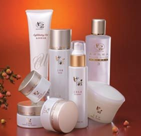 An trial order for a full series of herbal skin care products
