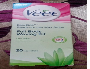 Body Waxing Strips for dry skin
