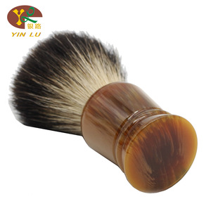customized Imitation agate resin knot, imitation agate resin knot shaving brush