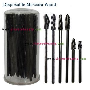 Disposable Mascara Wand Lip Gloss Wand Lip Brush Eyeliner Brush Blush Brush Eye Shadow Applicator & Spatula