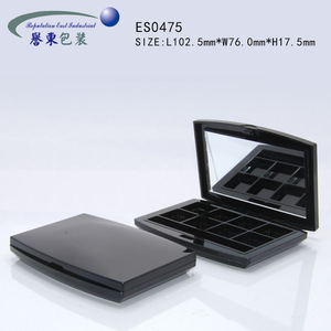 Fast shipping empty makeup palette for eye shadow case