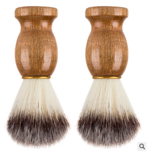 Free Sample Black Beard Brush Shaving Brush for Men- With Natural Sandalwood Essential Oil