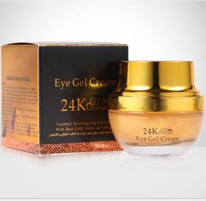 Organic 24K Gold Collagen Eye Bag Cream Removal Eye Cream Ageless Private Label