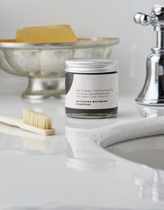 private label bamboo charcoal coconut oil pulling toothpaste natural organic toothpaste