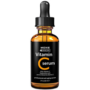 Radha Beauty -Natural Vitamin C Serum Private Label, 2 fl. oz - 20% organic Vit C + E + Hyaluronic Acid - 585146