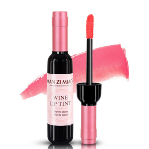 Red Wine Shape Lip Gloss Make Your Own Logo Lasting Lipgloss with Red wine Bottle