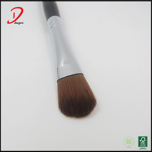 refillable wood handle eyeshadow brushes,makeup eyeshadow brush applicator
