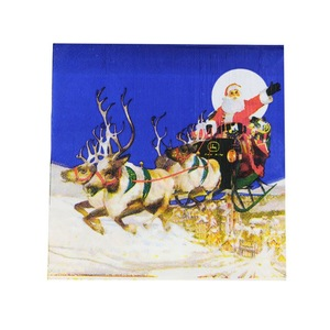 TOP Sale OEM Design Smooth Christmas Series Cheap Napkins