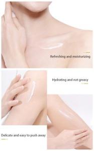 Wholesale Body Care Brightening Goat Milk Body Lotion Moisturizing Replenishing Repairing Body Whitening Cream