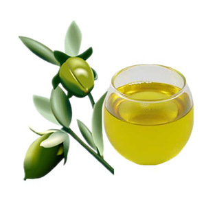 Wholesale Organic Jojoba Oil Carrier Oil For Face Skin Care Cold Pressed