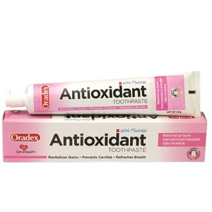120g Oradex Antioxidant Grape Seed Natural Toothpaste Halal