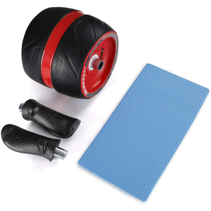 3-in-1 Abdominal Workout Home Gym Equipment Core Training Abdominal Ab Wheel Roller Set