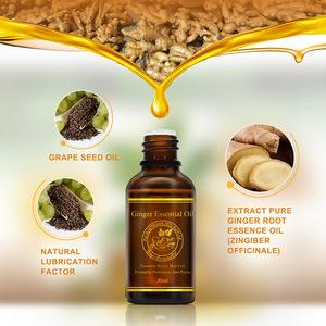 30ml Ginger Essential Oil Body Massage Oil Thermal Body Ginger Essential Oil