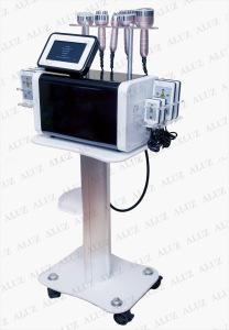 6 in 1 system 40K Cavitation+12 6 3 Vacuum Bipolar RF+lipo laser slimming machine