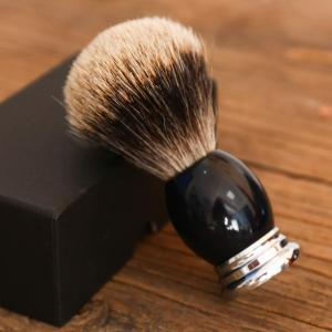 Amazon direct supply Acrylic handle  badger hair man shaving cream brush
