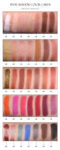 China Manufacturer Wholesale Custom  Matte Eyeshadow Palette