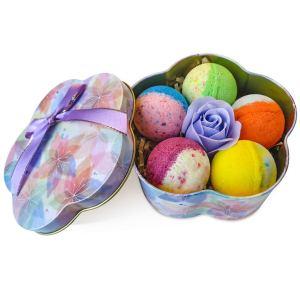 Custom Color Bath Salt Ball Essential Oil Natural Bubble Relax Stress Relief Body Shower Bath Bombs