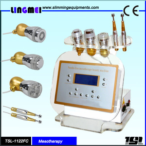 Lingmei portable facial skin rejuvenation no needle mesotherapy machine / device /apparatus