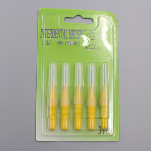 Oral dental tooth pick Interdental brush