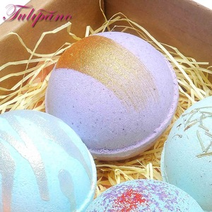 Shea Butter Natural Spa Colourful bath bombs fizzy