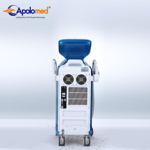 China floor standing shr ipl laser hair removal machine for sale