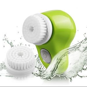 Electric beauty personal care waterproof facial & body brush spa cleaning system