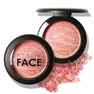 Focallure Malaysia Import Products Professional Individual Single Blush 6 Colors Makeup Cheek Blusher