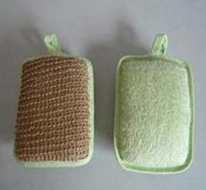 Green Microfiber Cloth Soft Scrubber Pad Skin Scrubber