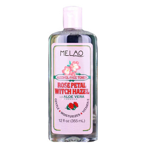 Hotselling rose water skin toner For skin care GENTLE +MOISTURIZES+VITAMINE ROSE PETAL WITCH HAZEL