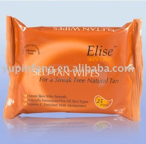 Imported DHA Self tan wet wipes