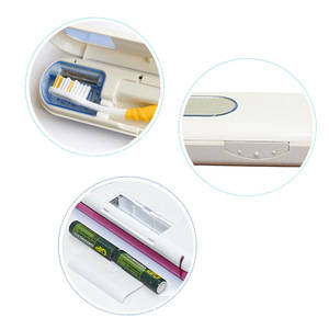 New Intelligent Automatic Design Portable UV Toothbrush Sanitizer Box For Travel Use