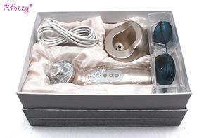 Newest Handheld Home Use Rechargeable Photon Ultrasonic Skin Care device FF1388B beauty salon cavitation