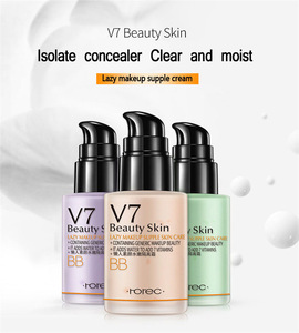 OEM ODM Rorec wholesale V7 best makeup base,waterproof makeup base cream