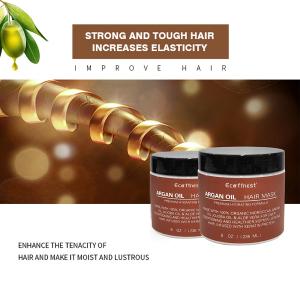 ORGANIC Argan Almond Oils Deep Conditioner Hydrating Repair Dry Damaged Color Treated Stimulates Growth Argan Oil Hair Mask