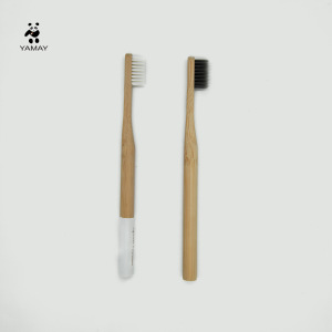 Professional Supplier Privated Label BPA fee Bristles Eco-Friendly Bamboo Toothbrush