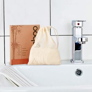 Reusable bamboo fiber cotton make up pad charcoal eyelash remover cloth pads washable sets