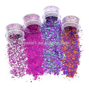 Shinein New Warm Mixed Color Cosmetic Glitter Nail Hair Body Face Glitter for Costume Makeup Party Decoration