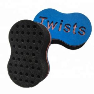 Sponge hair roller/hair removal sponge / hair comb factory supplied magic hair twist sponge Brush