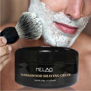 Bulk private label natural mens organic aloe vera shaving cream